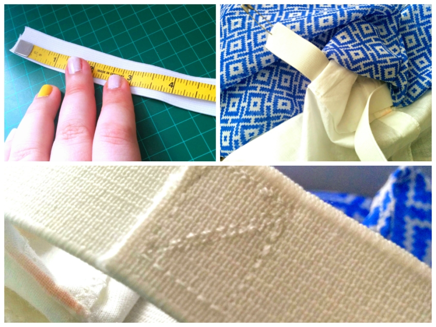 sewing waistband