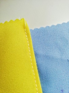 For extra smoothness - top stitch the seam in place