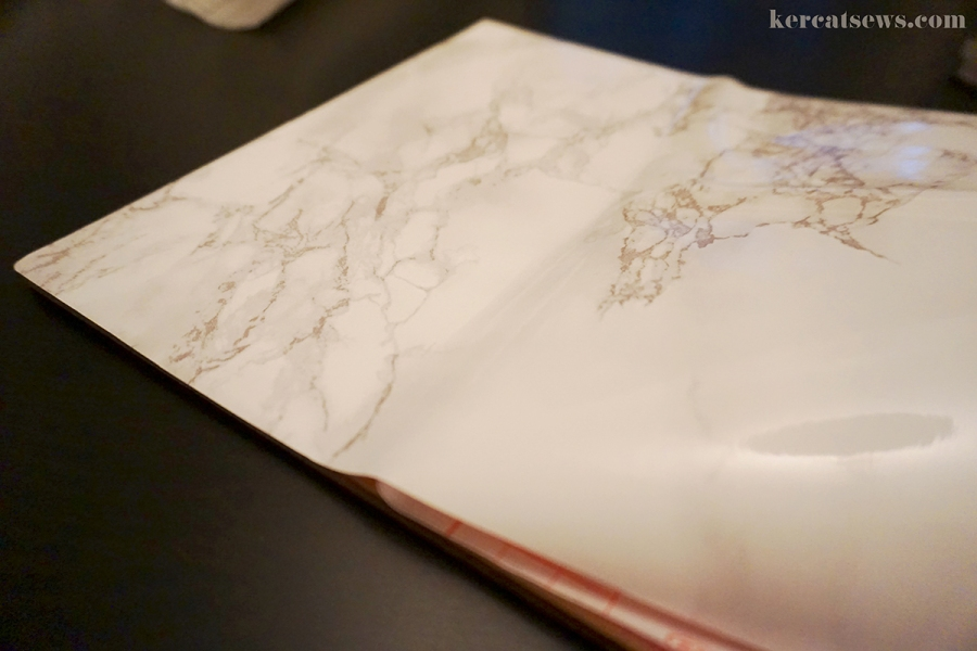 DIY Marble Mouse Pad! Super easy and cheap! Easy | Marble | Gold | Etsy | Modern | Tutorial | Decor | kercatsews.com